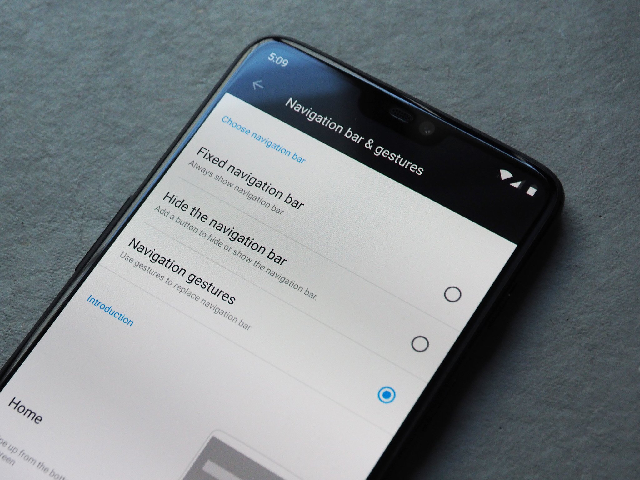 Image result for oneplus 6 android 9 gestures
