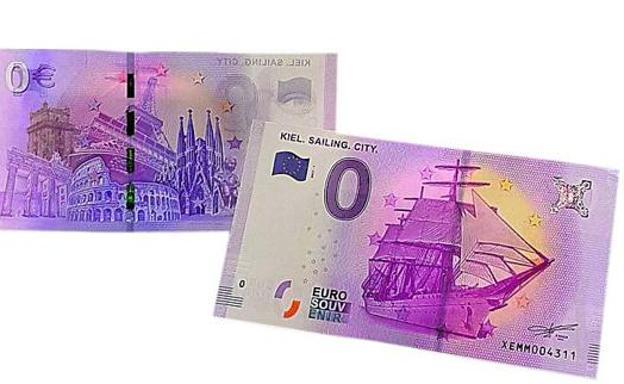 Resultado de imagen de billete de 0 euros