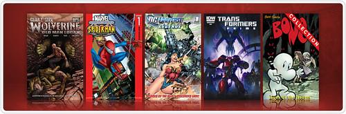 Digital Comics Store Update 02-01-11