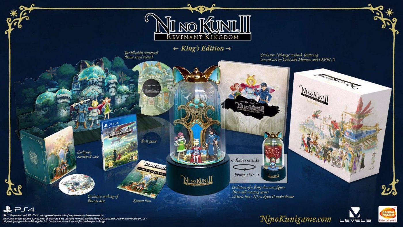 Ni No Kuni II edición Rey
