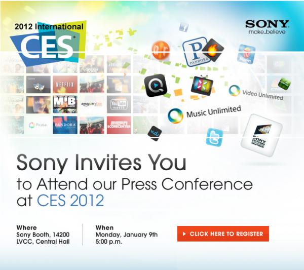 Sony CES 2012
