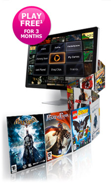 OnLive gaming and BT. Gaming as it should be.