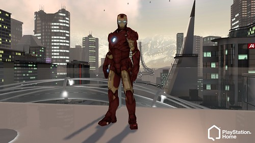 PlayStation Home - Iron Man