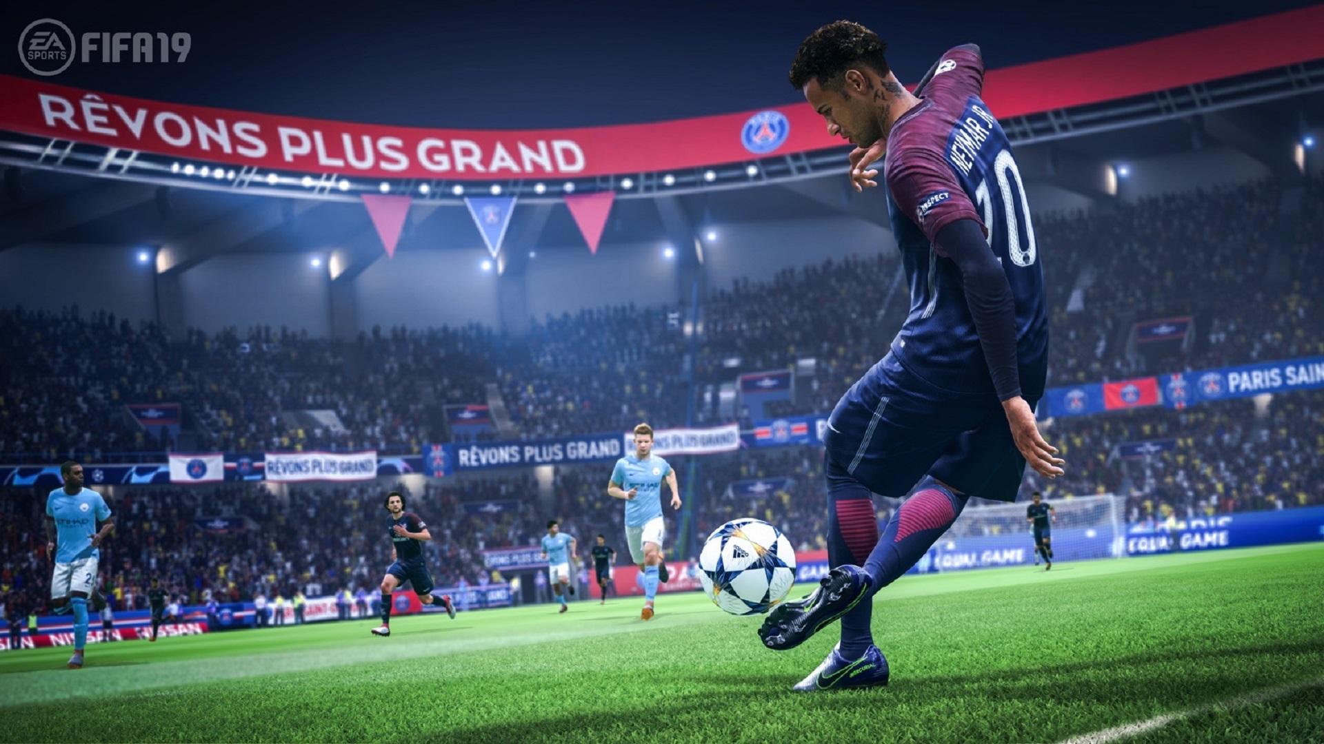 Afbeeldingsresultaat voor Fifa 19 gameplay ps4