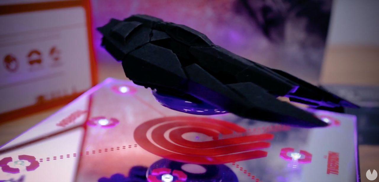 Circuito Wipeout : Sony promociona el nuevo wipeout con una nave que